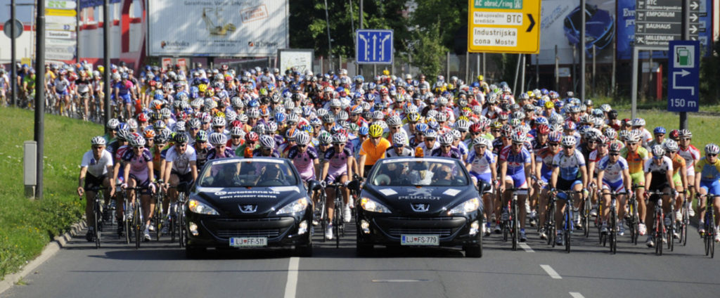Marathon Franja became the biggest cycling event in Slovenia.