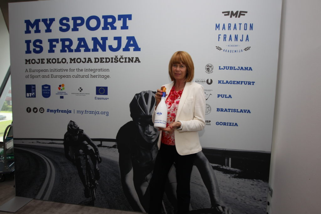 BTC's head of marketing and communication Maja Oven: ,,Our goals is to make Slovenia a cycling country.''